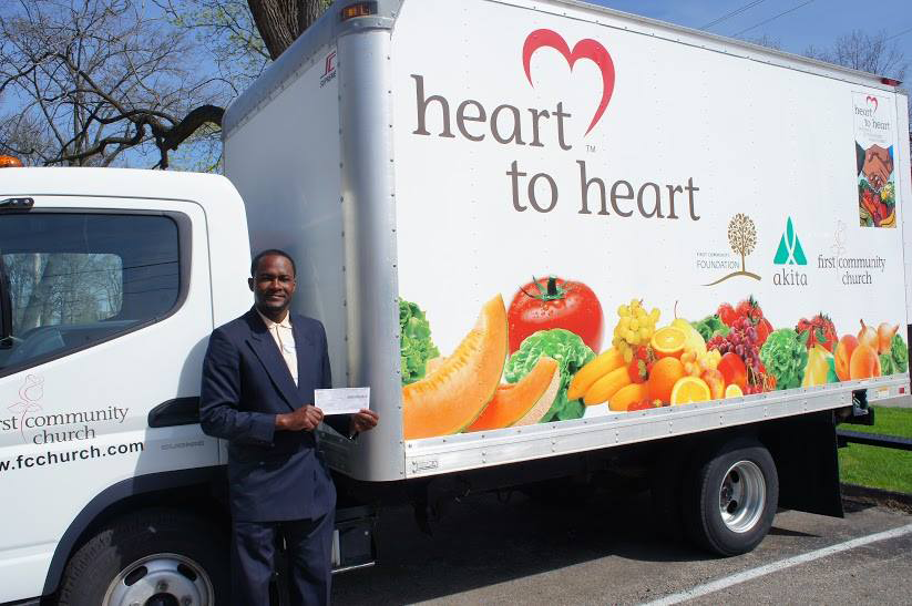 Heart to Heart Food Pantry, history