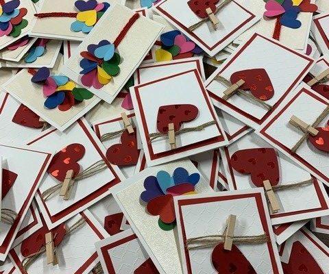 Pile of Valentines